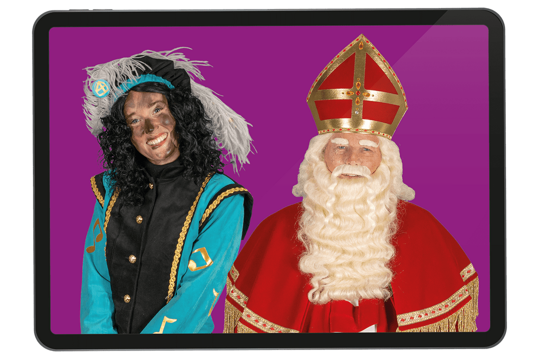 Videobellen met Sinterklaas
