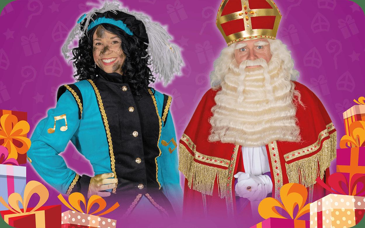 Op bezoek bij Sinterklaas in Amstelveen